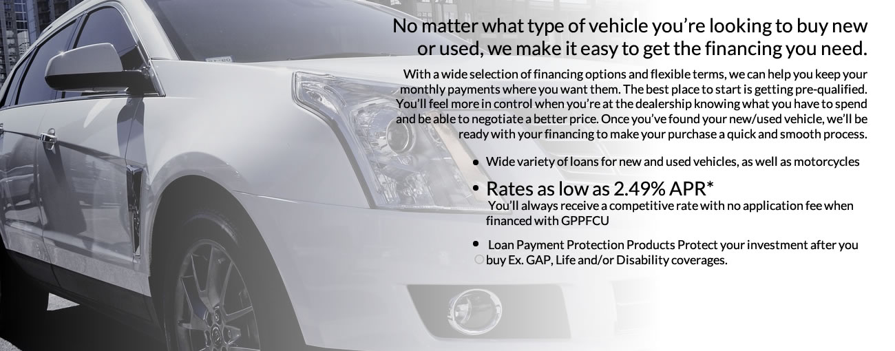 Auto as a low as 2.49% APR